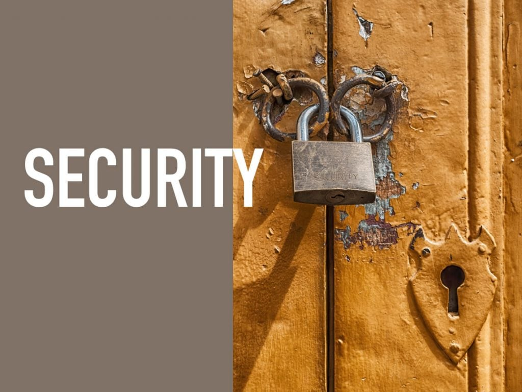 Selecting the Right Software - Security