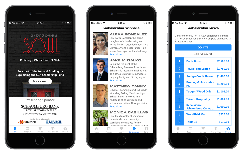 Toast of Schaumburg Mobile App